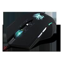 Проводная  USB мышь, игровая, чёрная  Crown micro CMXG-602