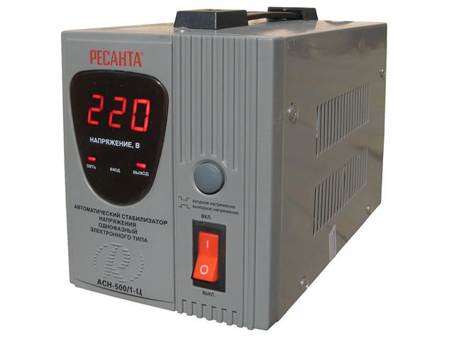 Стабилизаторы электронного типа с LED дисплеем (однофазные)