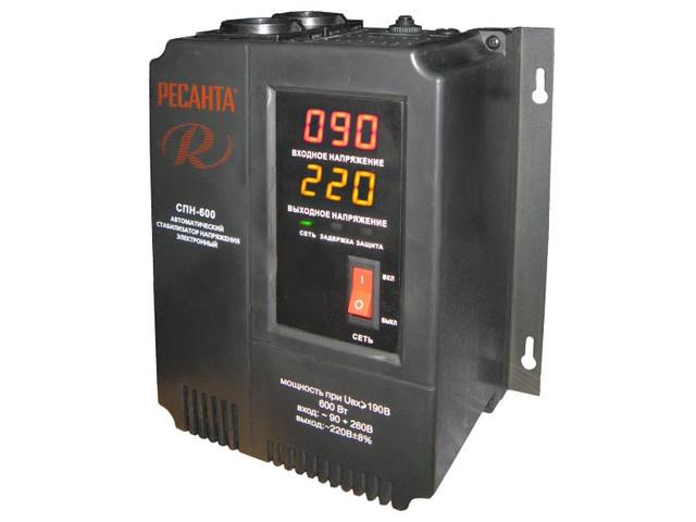 Стабилизаторы пониженного напряжения c LED дисплеем (однофазные)