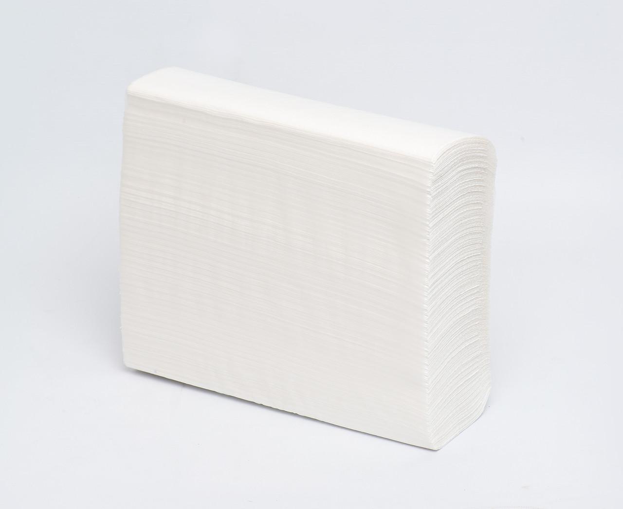 Листовые бумажные полотенца Z-сложения (2-слоя) белая