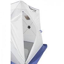 """Палатка """"Призма Стандарт"""" 150, 1-слойная, цвет бело-синий, фото 3"""