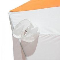 """Палатка """"Призма Стандарт"""" 200, 1-слойная, цвет бело-оранжевый, фото 3"""