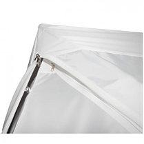 """Палатка """"Призма Люкс"""" 200, 2-слойная, с 1 входом, цвет бело-синий, фото 3"""