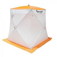 """Палатка """"Призма Cтандарт"""" 150, 1-слойная, цвет бело-оранжевый"""