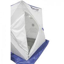 """Палатка """"Призма Стандарт"""" 150, 2-слойная, цвет бело-синий, фото 3"""