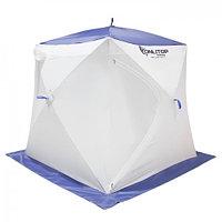 """Палатка """"Призма Стандарт"""" 150, 3-слойная, цвет бело-синий"""
