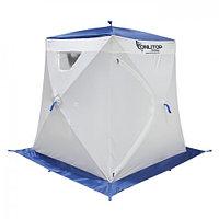"""Палатка """"Призма Люкс"""" 150, 1-слойная, цвет бело-синий"""