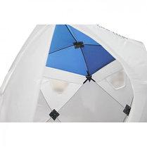 "Палатка ""Призма Люкс"" 150, 1-слойная, цвет бело-синий, фото 2"
