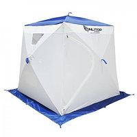"""Палатка """"Призма Люкс"""" 170, 1-слойная, цвет бело-синий"""
