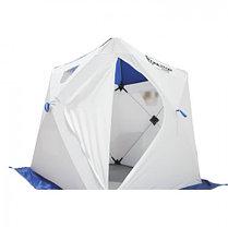 "Палатка ""Призма Люкс"" 170, 1-слойная, цвет бело-синий, фото 3"