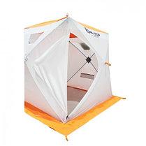 """Палатка """"Призма Люкс"""" 170, 1-слойная, цвет бело-оранжевый, фото 3"""
