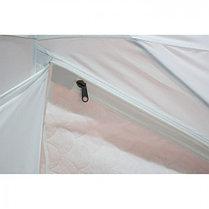 """Палатка """"Призма Стандарт"""" 170, 3-слойная, цвет бело-оранжевый, фото 3"""