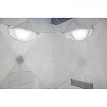 "Палатка ""Призма Люкс"" 150, 3-слойная, цвет бело-синий, фото 2"