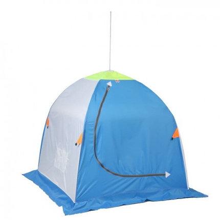 """Палатка """"Медведь"""" 1 местная, 4 луча, оксфорд 210 верх брезент, фото 2"""