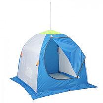 """Палатка """"Медведь"""" 1 местная, 4 луча, оксфорд 210 верх брезент, фото 3"""