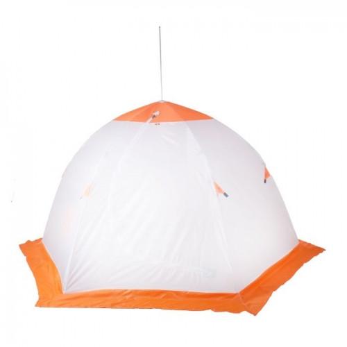 """Палатка """"Медведь"""" 3 местная, 6 лучей, оксфорд 210 верх брезент"""