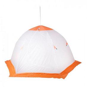 """Палатка """"Медведь"""" 3 местная, 6 лучей, оксфорд 210 верх брезент, фото 2"""