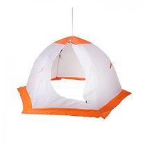 """Палатка """"Медведь"""" 3 местная, 6 лучей, оксфорд 210 верх брезент, фото 3"""