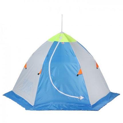 """Палатка """"Медведь"""" 1 местная, 6 лучей, оксфорд 210 верх брезент, фото 2"""
