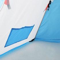 """Палатка """"Медведь"""" 1 местная, 6 лучей, оксфорд 210 верх брезент, фото 3"""
