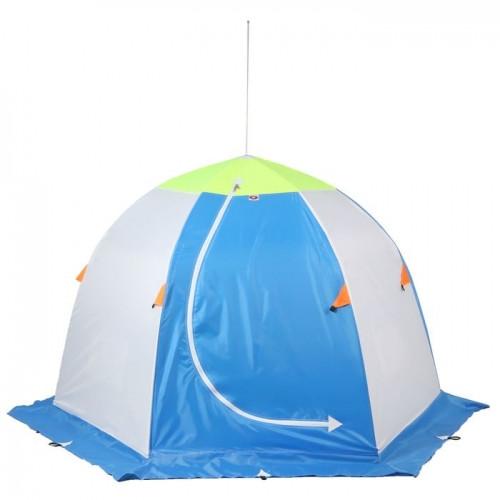 """Палатка """"Медведь"""" 2 местная, 6 лучей 3-х слойная термостёжка"""