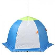 """Палатка """"Медведь"""" 2 местная, 6 лучей 3-х слойная термостёжка, фото 2"""