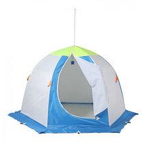 """Палатка """"Медведь"""" 2 местная, 6 лучей 3-х слойная термостёжка, фото 3"""