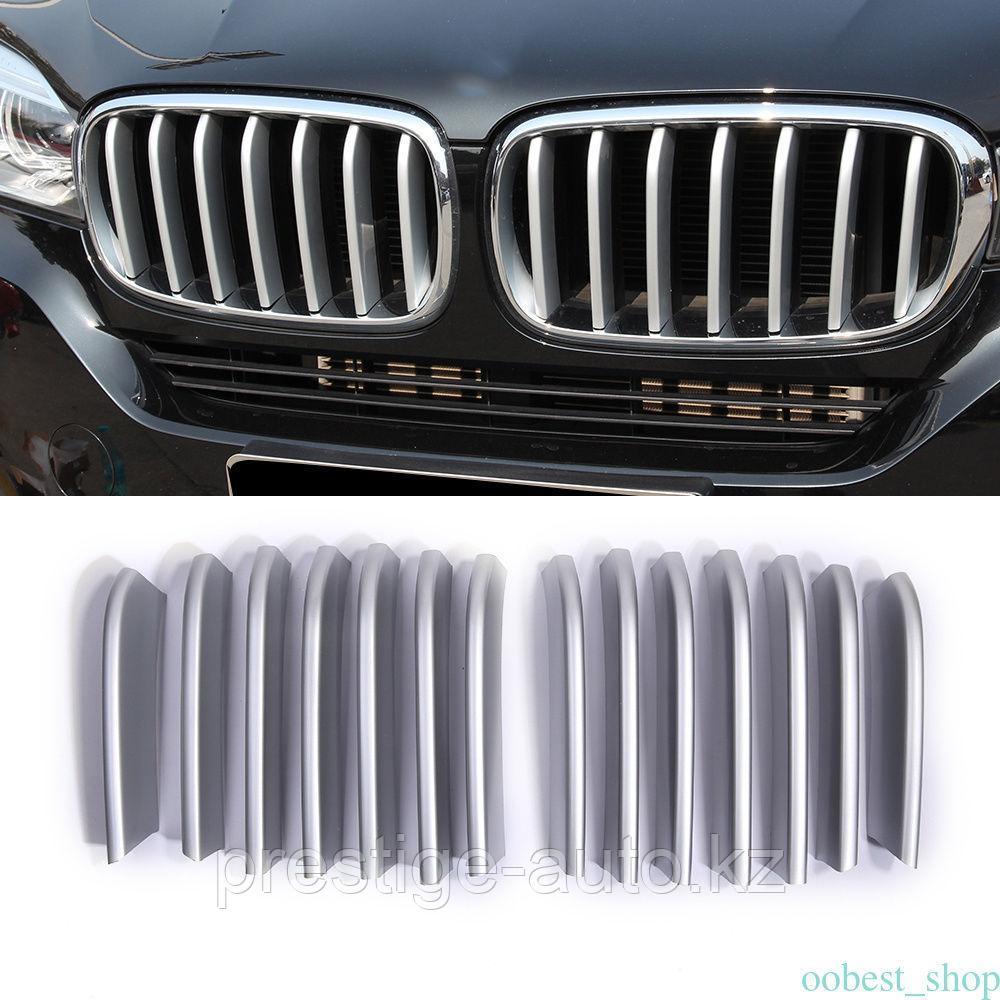 Накладки на решётки радиатора BMW X5 F15 2014-2018
