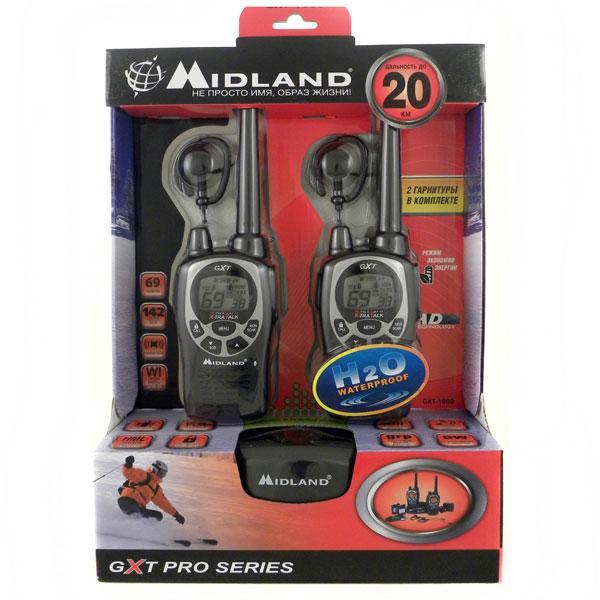 Рации midland gxt-1000