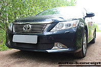 Защита радиатора Toyota Camry XV50 2011-2014 black