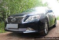 Защита радиатора Toyota Camry XV50 2011-2014 chrome