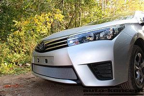 Защита радиатора Toyota Corolla 2013-2016 chrome