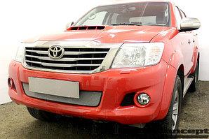 Защита радиатора Toyota Hilux 2011-2015 chrome