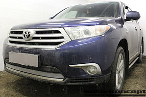 Защита радиатора Toyota HIGHLANDER U40 2010-2013 chrome