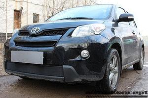 Защита радиатора Toyota Urban Cruiser 2009-2014 black верх