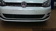 Защитно-декоративные решётки радиатора Volkswagen Golf VII 2013-