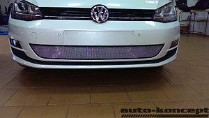 Защита радиатора Volkswagen Golf VII chrome