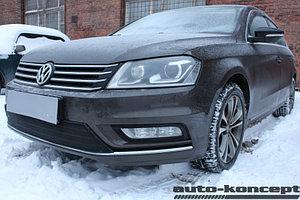 Защита радиатора Volkswagen Passat B7 2011-2015 Style black