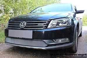 Защита радиатора Volkswagen Passat B7 (универсал) 2011-2015 chrome