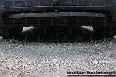 Защитно-декоративные решётки радиатора Volkswagen Touareg 2010-2014