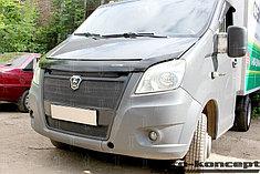 Защитно-декоративные решётки радиатора ГАЗель NEXT 2013-