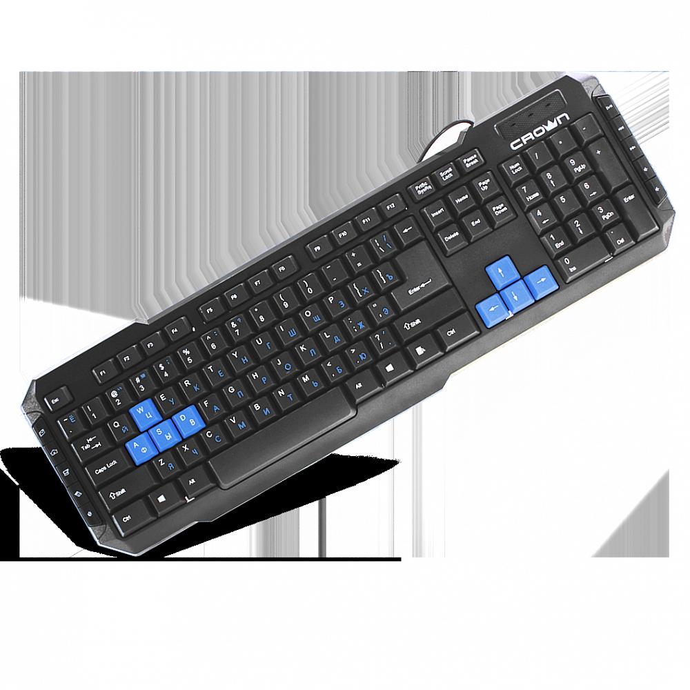 Клавиатура мультимедийная Crown CMK-314