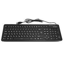 Проводная силиконовая клавиатура Crown CMK-6002