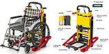 Подъемник лестничный, гусеничный для инвалидов, электрический, складной, мобильный 24v 200w.model DW-11C., фото 5