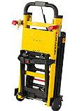 Подъемник лестничный, гусеничный для инвалидов, электрический, складной, мобильный 24v 200w.model DW-11C., фото 4