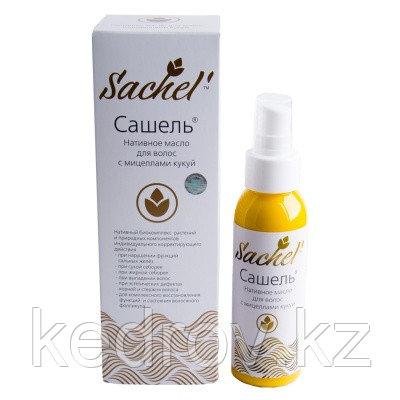 Сашель Нативное масло для волос с мицеллами кукуй, 100 мл  (устраняет зуд, грибковую инфекцию)