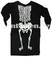 Накидка Скелет для Хэллоуина (большой)