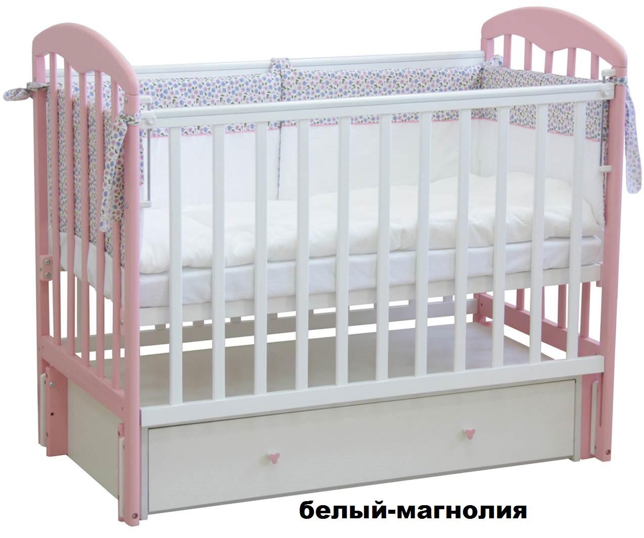 Кроватка детская Фея с ящиком