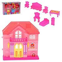 Дом для кукол с аксессуарами