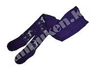 Детские теплые колготки Alena 5-7 лет фиолетовые